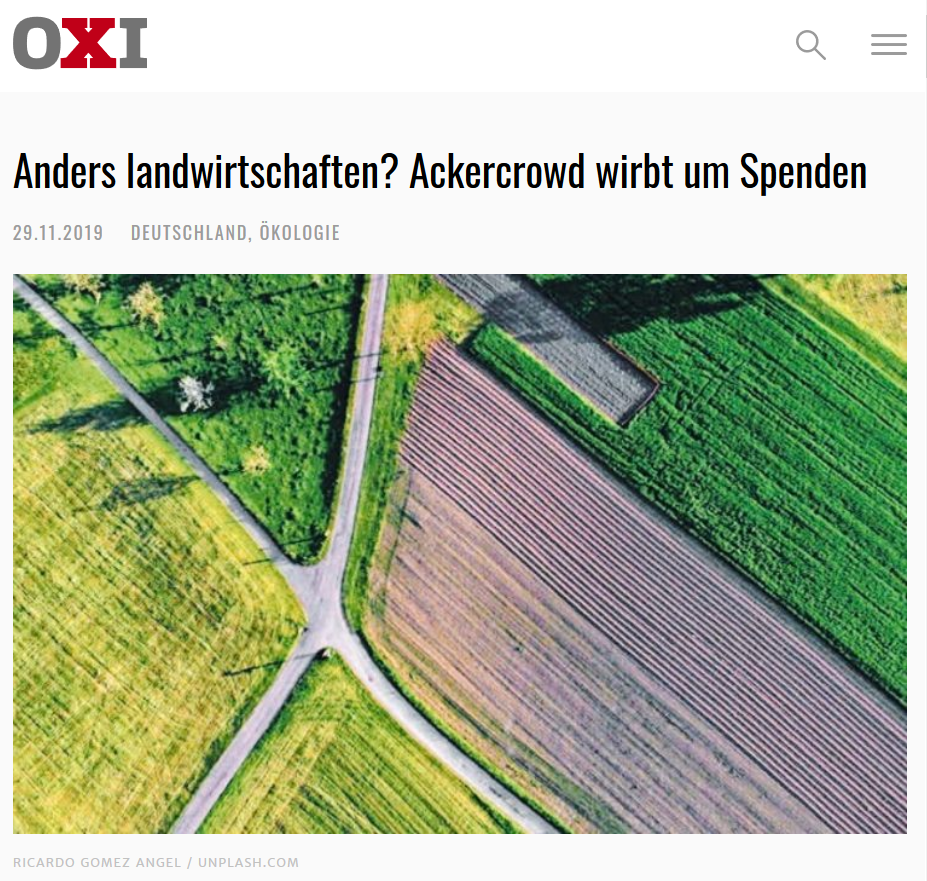 Artikel bei OXI
